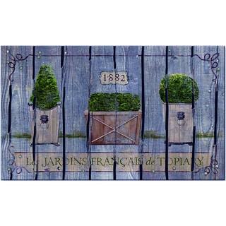 """Outdoor French Topiary Doormat (18"""" x 30"""")"""