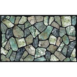 "Outdoor Flagstone Greystone Doormat (18"" x 30"")"