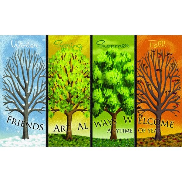 """Outdoor Four Seasons Doormat (18"""" x 30"""")"""