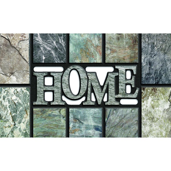 "Outdoor Home Slate Grey Doormat (18"" x 30"")"