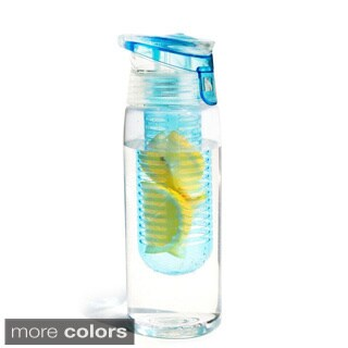 Asobu Flavour it 2 Go - Fruit Infuser Bottle - 20oz - BPA free (One Bottle)