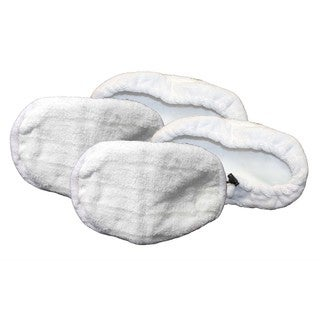 Bissell Compatible Washable Steam Mop Pads (Set of 4)