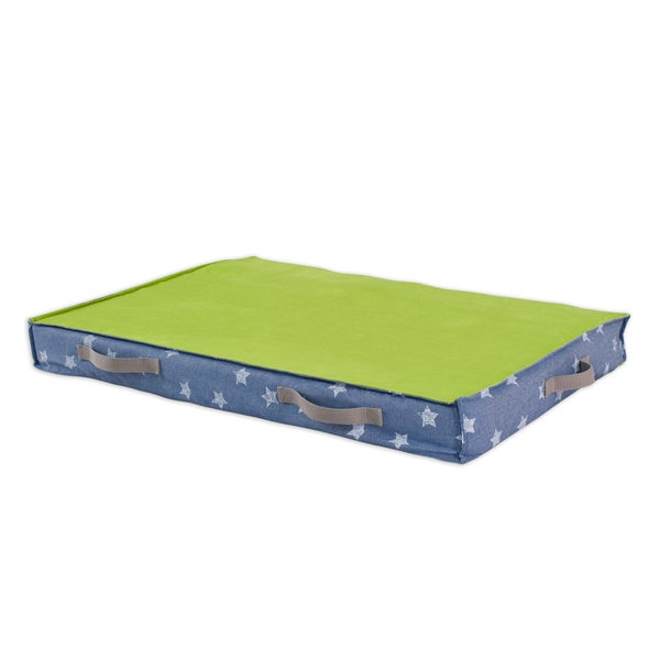 Denim Stars Under the Bed Storage with Canvas Handle