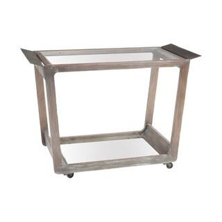 LS Dimond Home Thompson Bar Cart