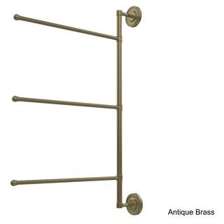 Prestige Regal Collection 3-swing Arm 28-inch Towel Bar