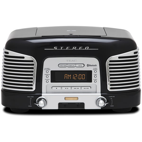 TEAC 2.1-channel Bluetooth Wireless/ CD/ Radio Speaker System