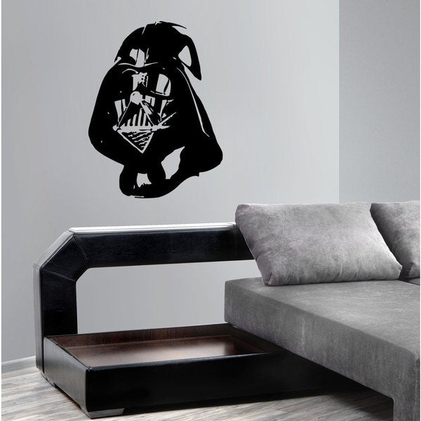 Darth Vader Helmet Star Wars Vinyl Sticker Wall Art