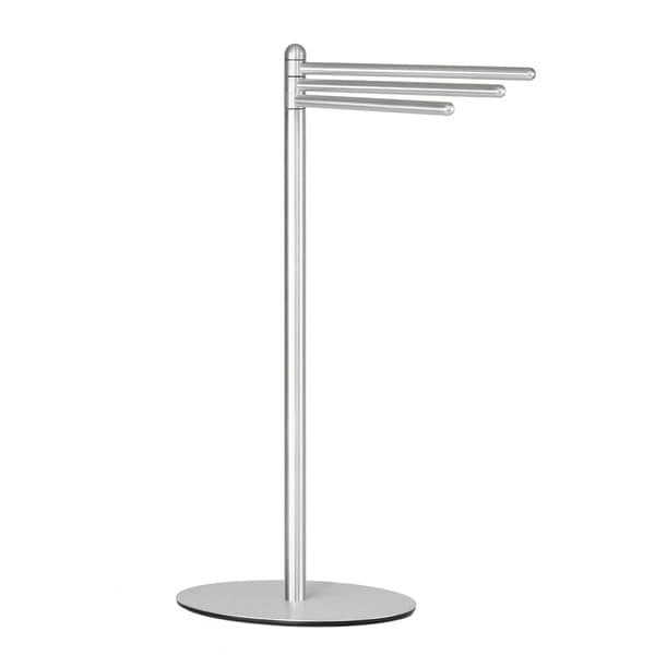 Cortesi Home Noli Aluminum Contemporary 3-swing Arm Towel Stand