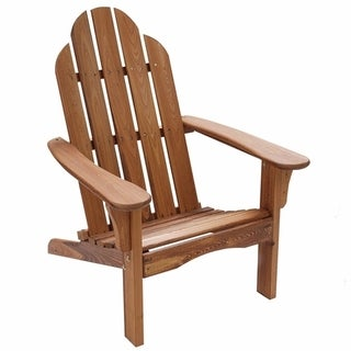 Folding Adirondack Brown Chair