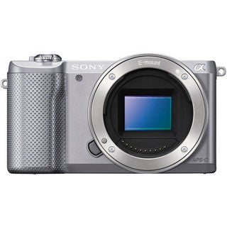 Sony Alpha a5000 Silver Mirrorless Digital Camera (Body Only)