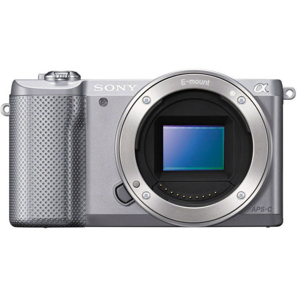 Sony Alpha a5000 Mirrorless Digital Camera (Silver)