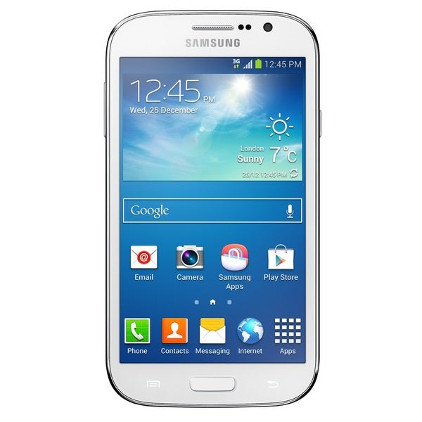 Samsung Galaxy Grand Neo DUOS I9060 8GB 3G Unlocked GSM Dual-SIM Cell Phone - White (Refurbished)