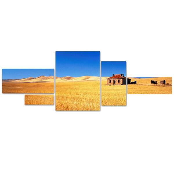 David Evans 'Burra Homestead-SA' 5 Panel Art Set