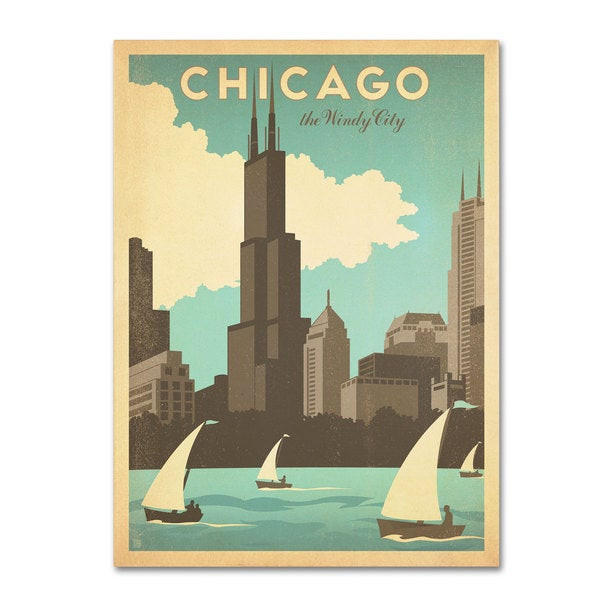 Anderson Design Group 'Chic Windy City' Canvas Art