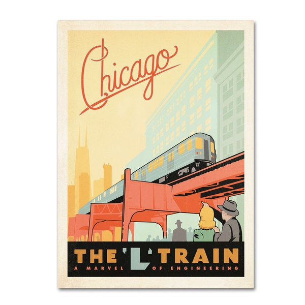 Anderson Design Group 'Chic L Train' Canvas Art