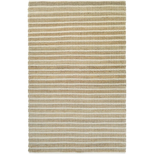 Couristan Natures Elements Desert/ Sand Dune-ivory Rug (5' x 8')