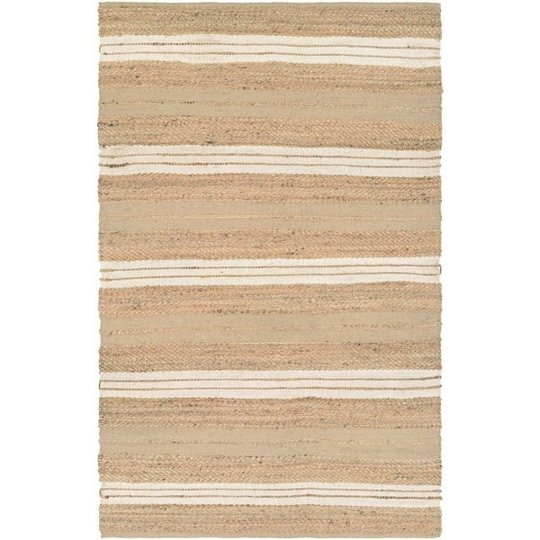 Couristan Nature's Elements Ray/Natural-Ivory Area Rug - 5' x 8' 15983988
