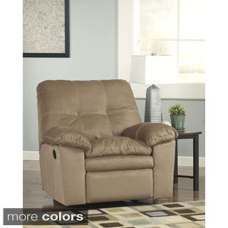 Signature Design by Ashley Mercer Fabric Rocker Recliner