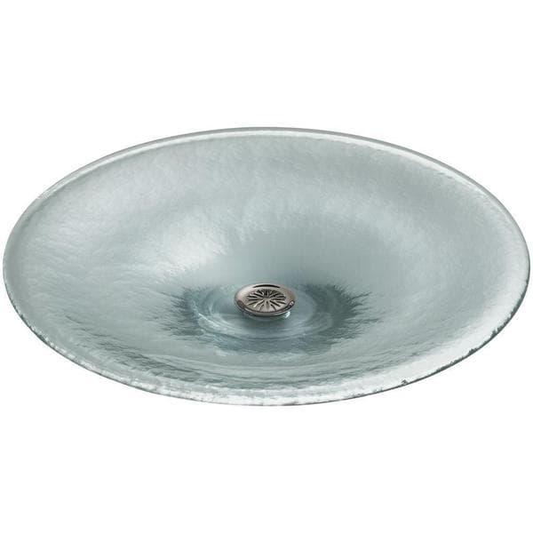 Kohler Vessel Sinks : Kohler Lavinia Vessels Spun-Glass Vessel Sink in Ice - 17525067 ...