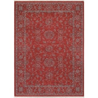 Couristan Elegance Althea/ Scarlet-beige Rug (9' x 12')