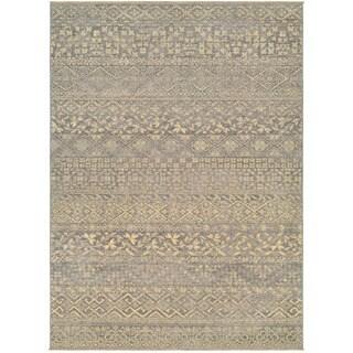 Couristan Elegance Ophelia/ Mauve-tan Rug (9' x 12')