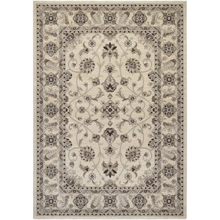 Couristan Everest Rosetta/ Ivory Rug (9' x 12')
