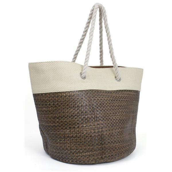Magid Value Straw Tote Bag