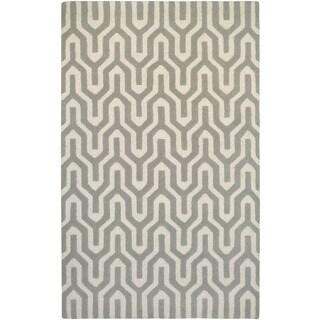 Couristan Super Indo-natural Cambria/ White-Grey Rug (9' x 13')