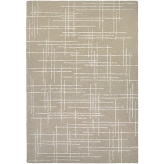 Couristan Super Indo-natural Cresson/ Linen Rug (9' x 13')