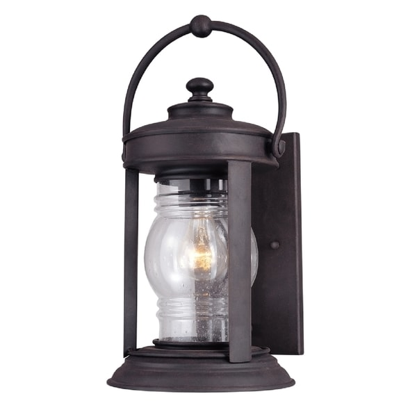 Troy Lighting Station Square 1-light Medium Wall Lantern