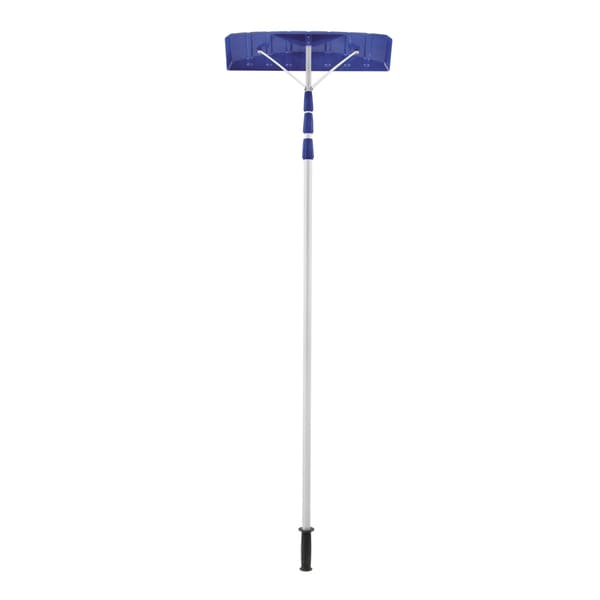 21-Foot Twist-n-Lock Telescoping Snow Shovel Roof Rake - RJ204M