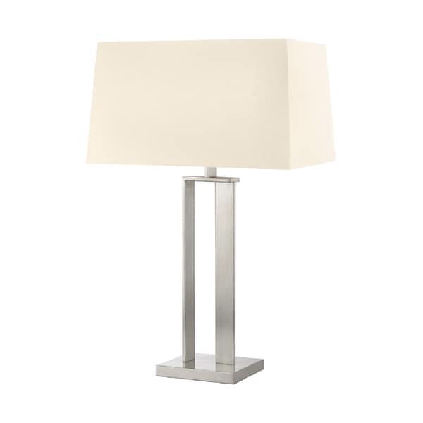 Sonneman Lighting D Satin Nickel Table Lamp