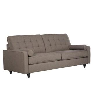 angelo:Home Mara Smoke Grey Sand Linen Sofa