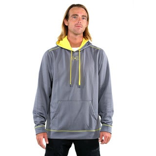 Under Armour Grey Men's Coldgear Tech Fleece Pullover Hoodie