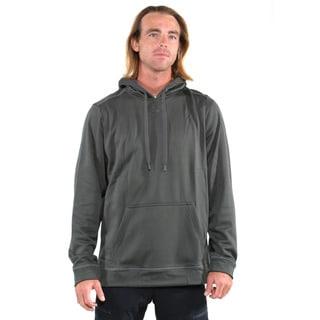 Under Armour Green Men's Coldgear Tech Fleece Pullover Hoodie