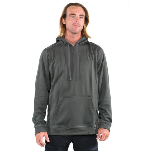 Under Armour Green Men's Coldgear Tech Fleece Pullover Hoodie
