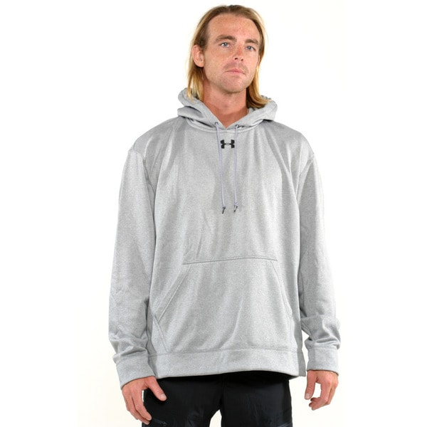 Under Armour Grey Men's Coldgear Training Pullover Hoodie