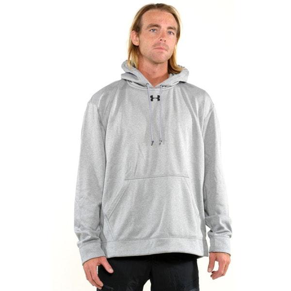 Under Armour Grey Men's Coldgear Training Pullover Hoodie