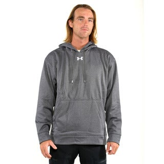 Under Armour Dark Grey Men's Team Coldgear Pullover Hoodie