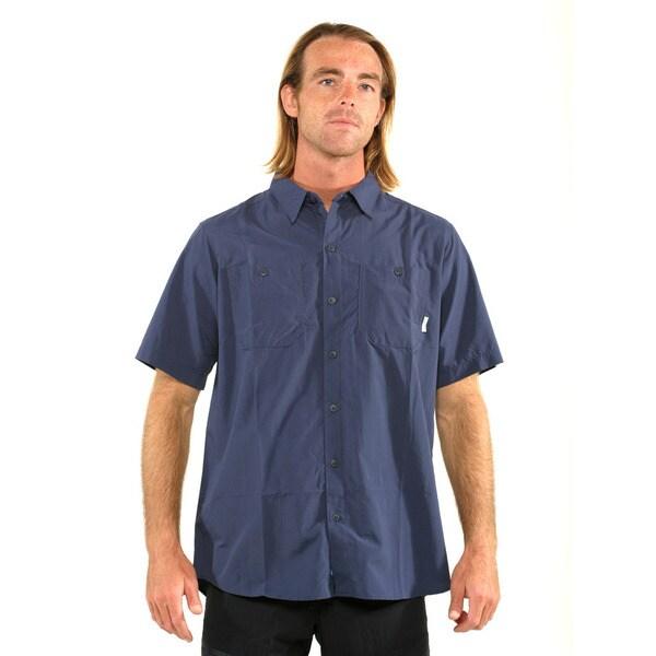 Columbia Men's Navy Corktown Solid SS T-shirt