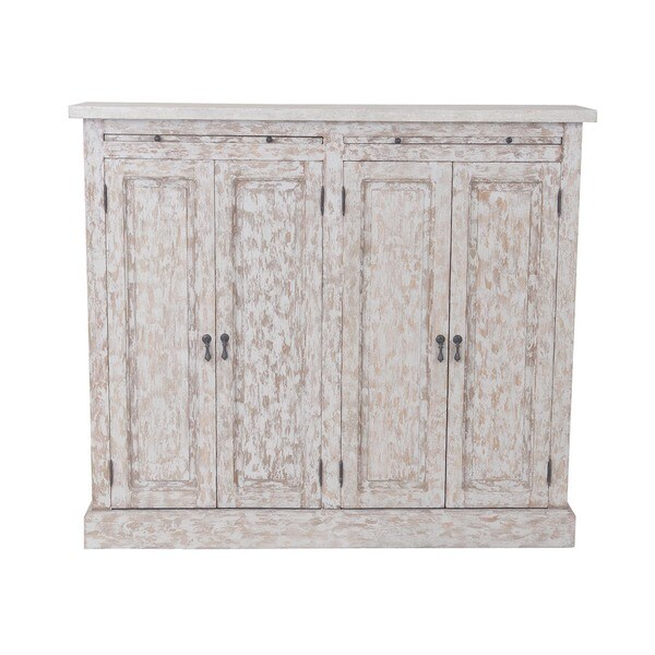 Flagler Rustic Antique Grey Sideboard Free Shipping Today