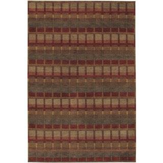 Couristan Pokhara Symmetry/ Multi Color Rug (9' x 13')