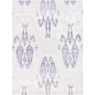 Couristan Sagano Zodiac/ Ivory-Lilac Rug (9' x 13')