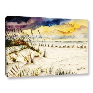 ArtWall Derek Mccrea 'Destin Beach' Gallery-wrapped Canvas