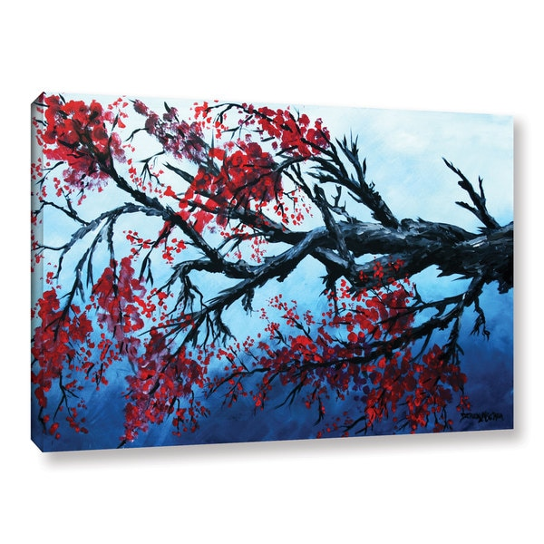 ArtWall Derek Mccrea Japanese Cherry Blossom Gallery wrapped Canvas