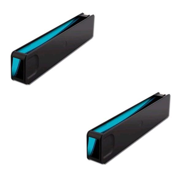HP 970XL (CN626AM) Cyan Compatible Inkjet Cartridge For HP OfficeJet Pro X451dn HP OfficeJet Pro X451dw (Pack of 2)