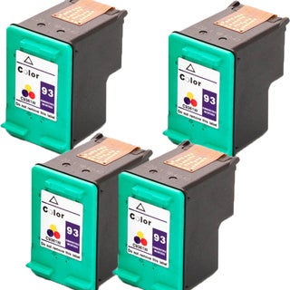 HP C9361WN (HP 93) Compatible Ink Cartridge For 5420 5440 5442 5443 C3100 C3140 C3150 C3180 (Pack of 4)