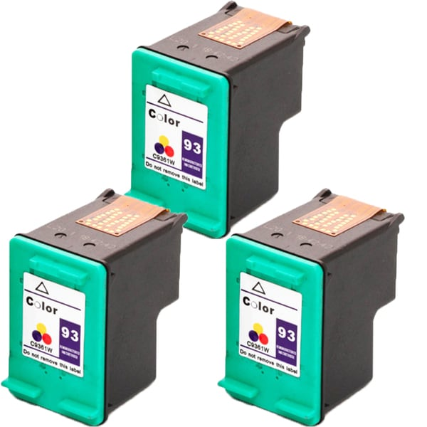 HP C9361WN (HP 93) Compatible Ink Cartridge For 5420 5440 5442 5443 C3100 C3140 C3150 C3180 (Pack of 3)