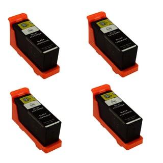 Dell T105N Black (Series 23) Compatible Inkjet Cartridge For Dell V515W (Pack of 4)