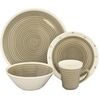 Sango Rico Taupe 16-piece Dinnerware Set